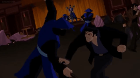Bruce Wayne-I'll Do The Chopping Around Here!