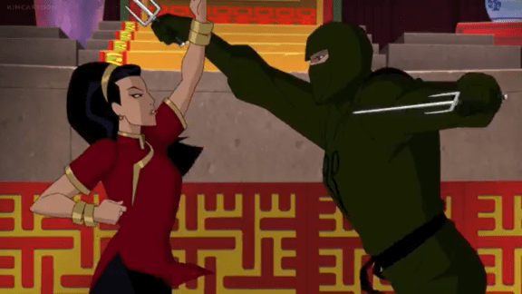 Lady Shiva-Let's Throw Down!
