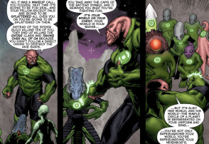 Kilowog Prequel-You Fight For Your World, As Well As Your Teammates!