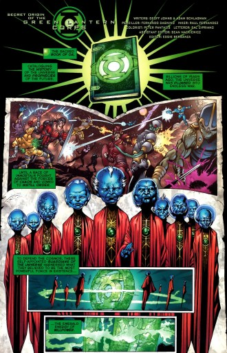 Sinestro Prequel-How The Corps Was Formed!