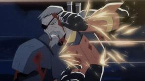 Deathstroke-Caught In A Bulletstorm!