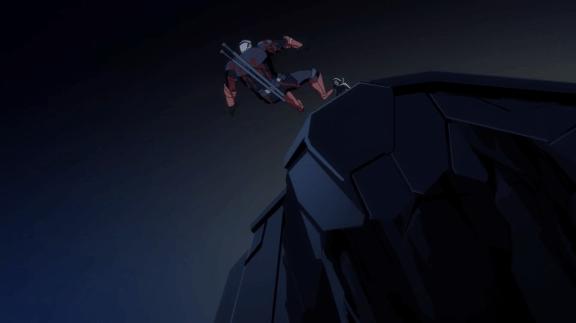 Deathstroke-My Fatal Plunge!