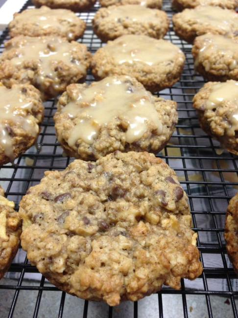 Both sets of oatmeal cookie experiments