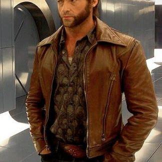 Original Leather Jacket of Hugh Jackman xmen