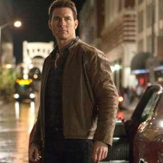 Original Leather Jacket of Tom Cruise in Jack Reacher Film