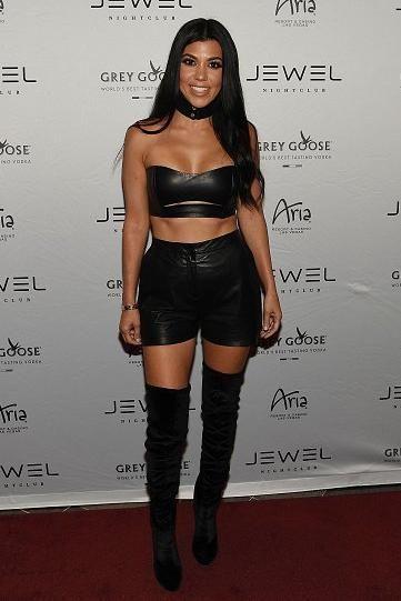 Kourtney Kardashian Womens Dressy Shorts
