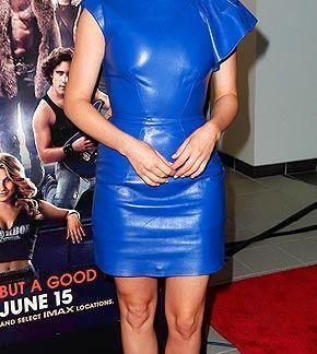 Leather Skirt of Julianne Hough