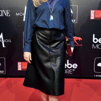 Perfect Leather Midi Skirt