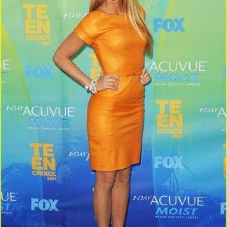 A Line Skirt Celebrity Dresses