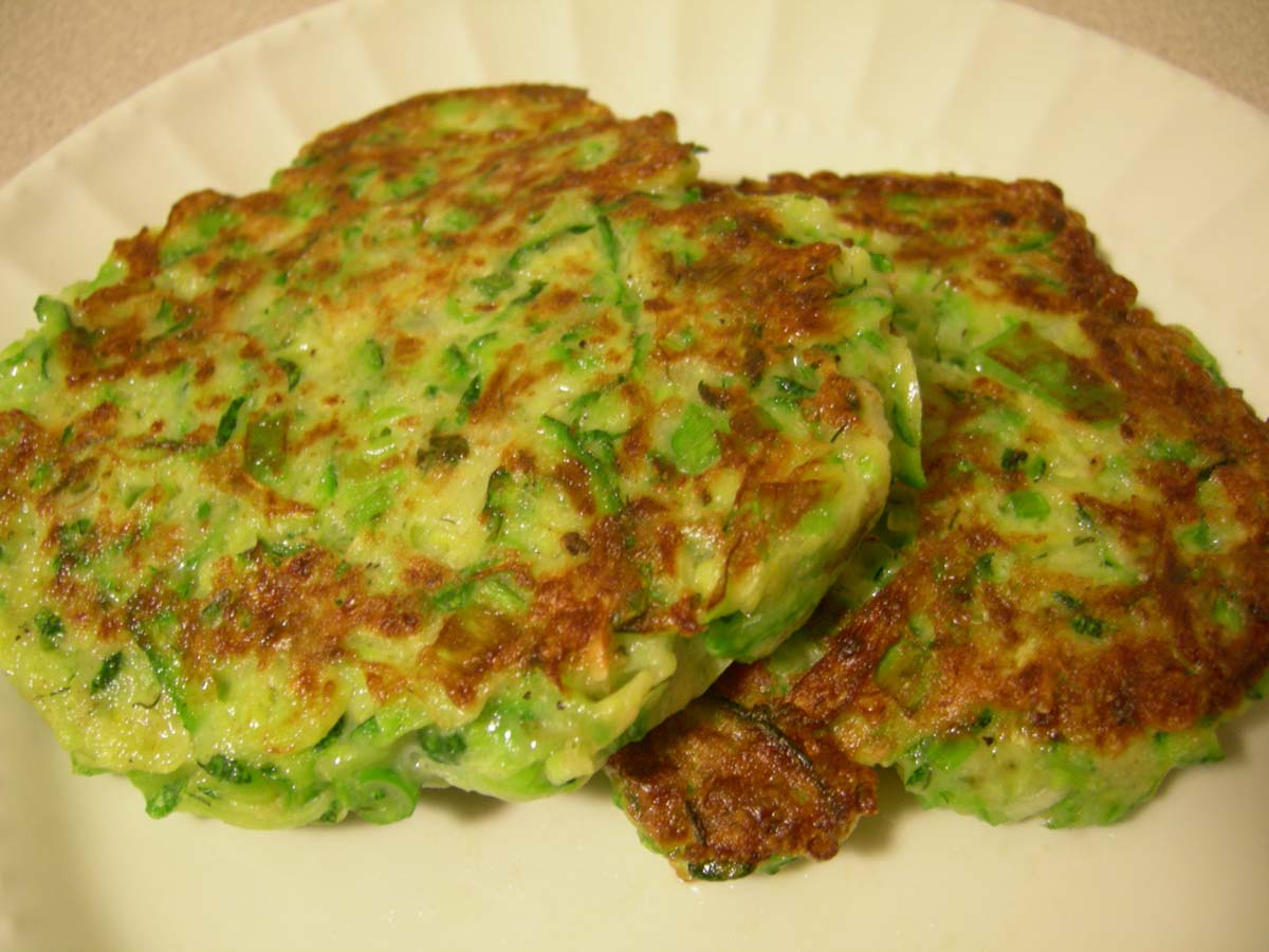 From The Farm Stand Savory Zucchini Cakes Casual Girl