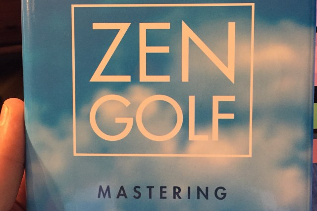 Zen Golf by Dr. Joseph Parent