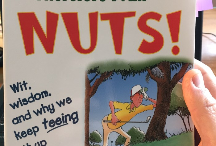 Golf humor book