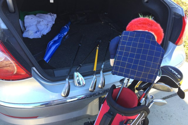 Only Take Your Good Clubs Out of the Trunk