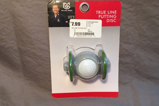 True Line Putting Disc Review