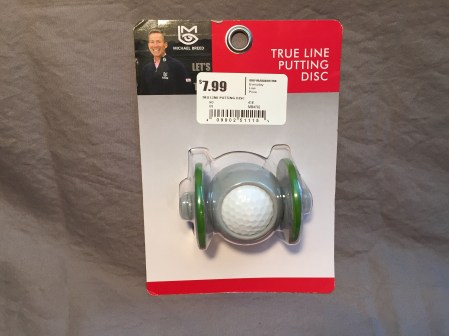 Package of True Line Putting Disc