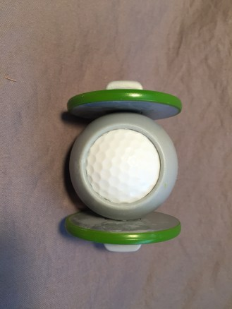 Top view of True Line Putting Disc
