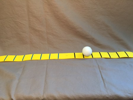 Breed Precision Putting Strip with ball
