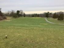 13 hole tee view