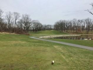 5th hole tee view