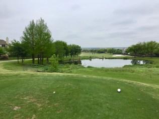 4th hole tee view