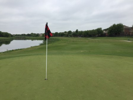 7th hole water.