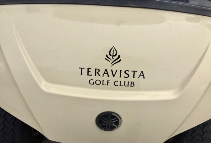 Teravista golf cart hood