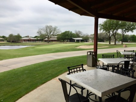 18th Green Clubhouse view