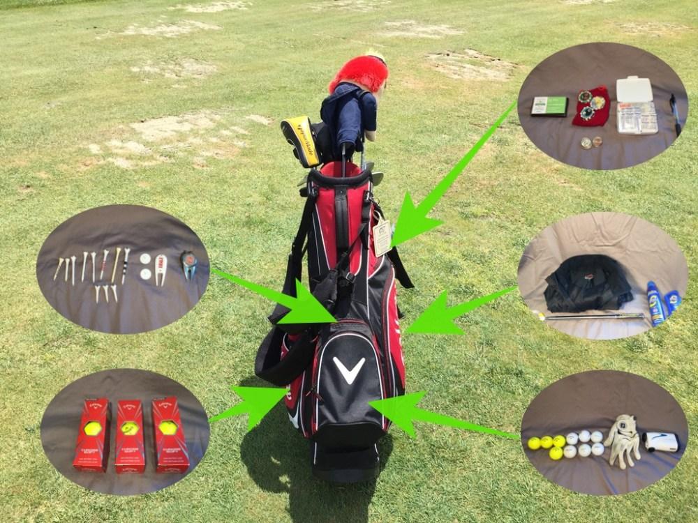 My Golf Bag Pockets