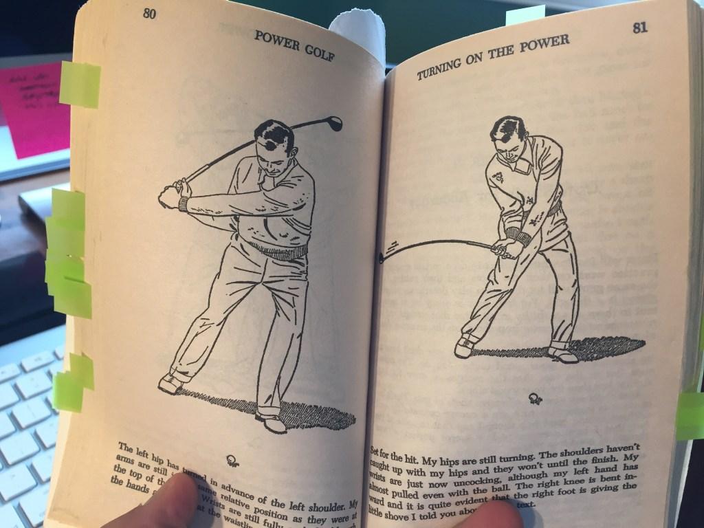 Ben Hogan's Power Golf Illustration