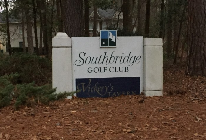 South bridge golf club golf course