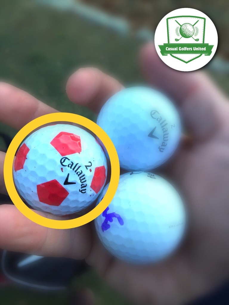 lucky golf ball