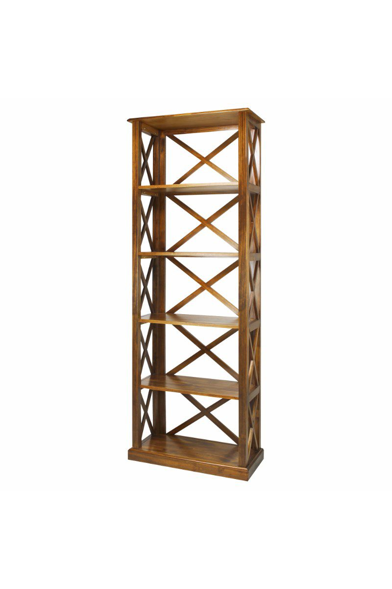 3 Shelf Folding Stackable Bookcase 27 5 Wide Casual Home