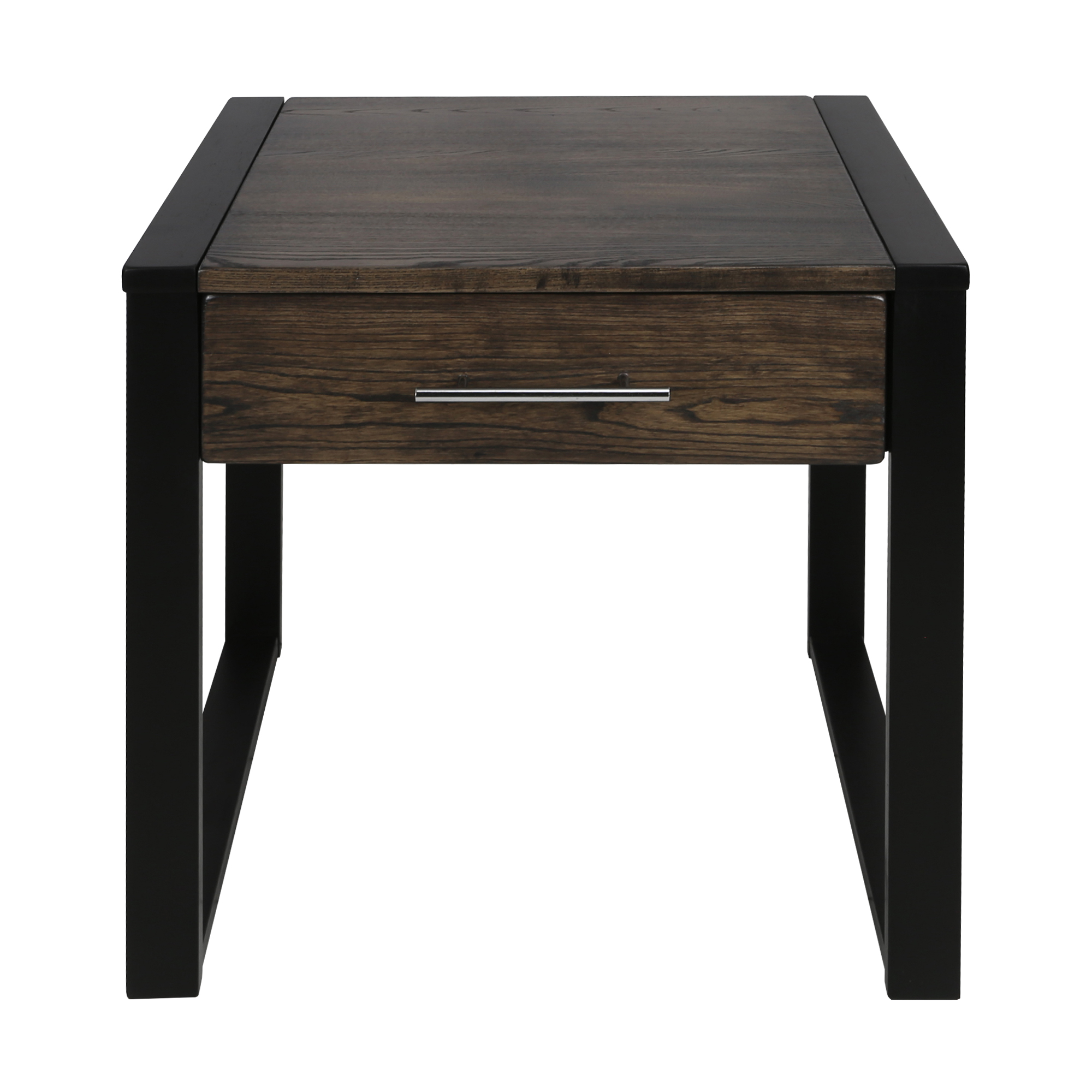 Austin End Table With Solid American Oak