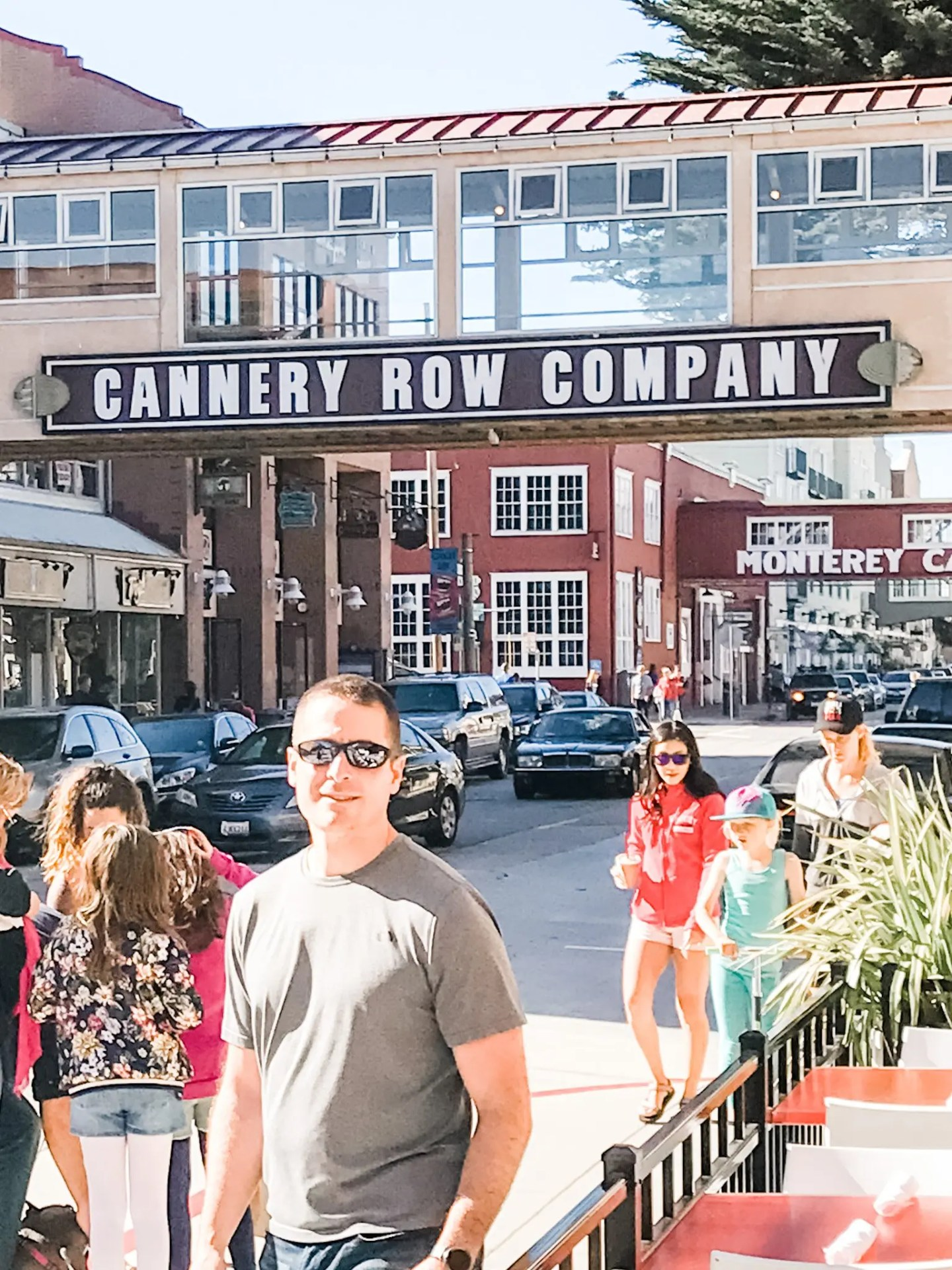 Josh at Cannery Row, Monterey