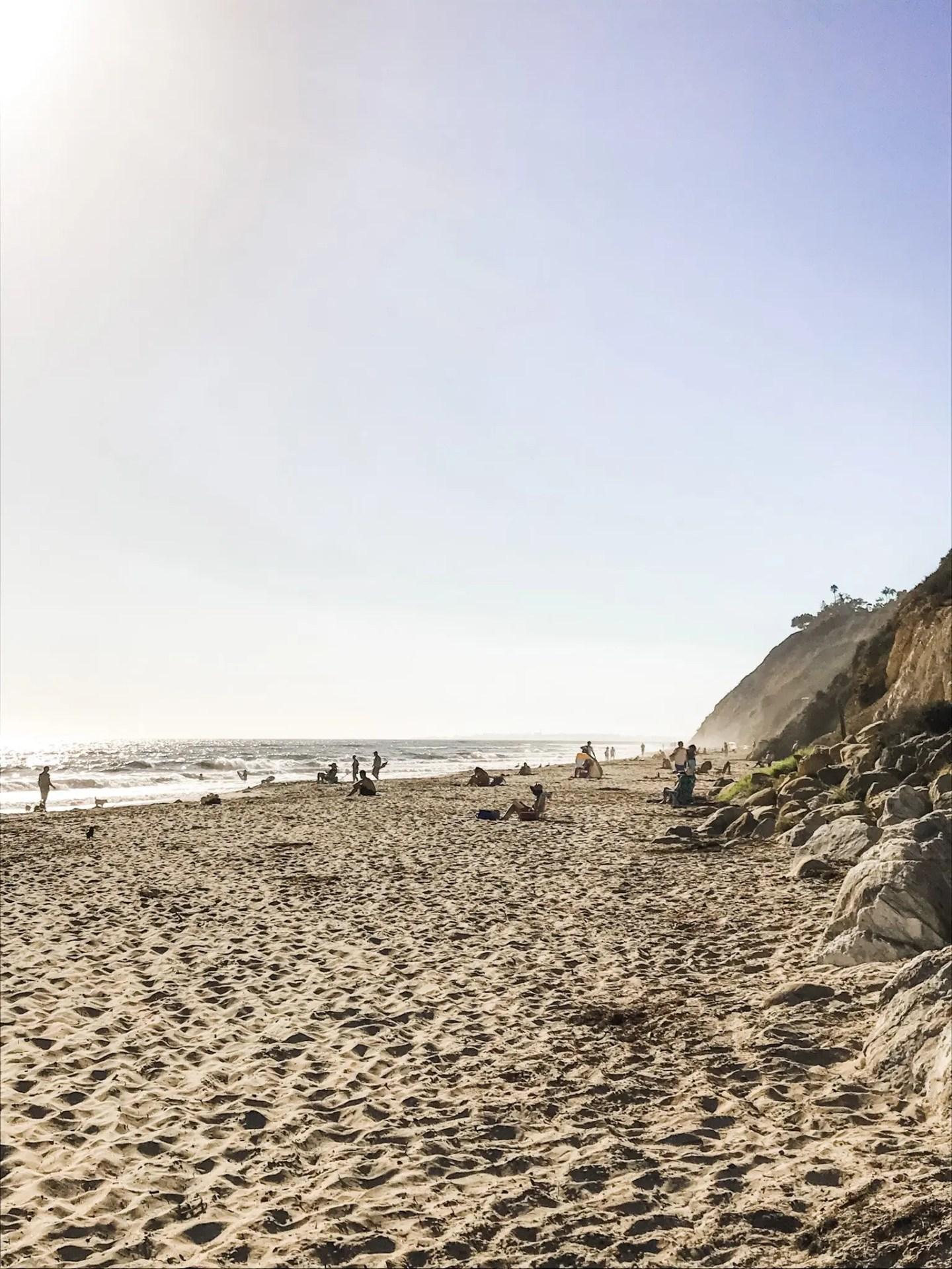 Hendry's Beach, also known as Arroyo Burro County Beach Park
