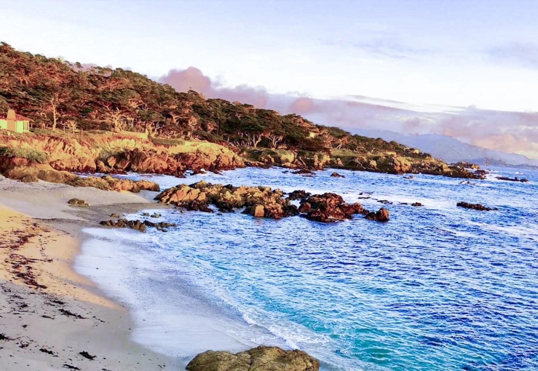 The shores of Monterey, California