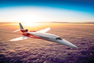Aerion AS2 In The Air