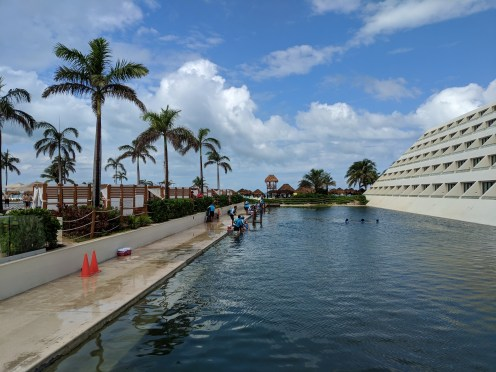 Hyatt Ziva Cancun Dolphin Pool