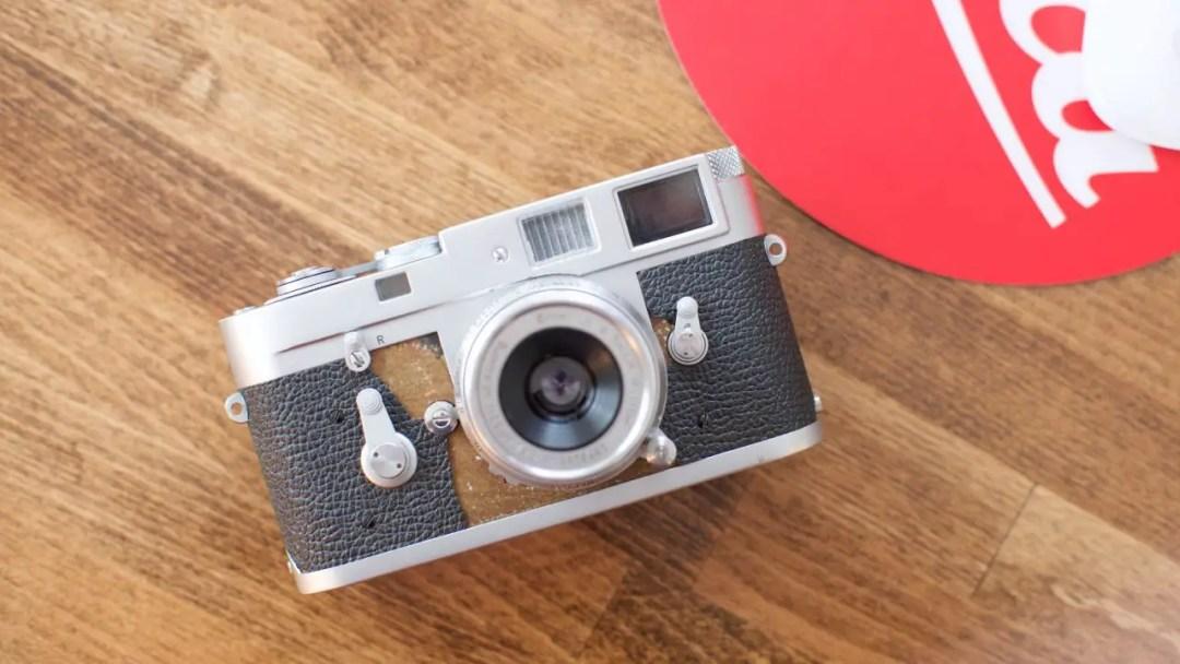 Leica M2 Vulcanite Replacement 1
