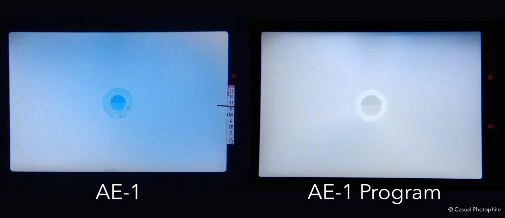 Canon AE-1 vs Canon AE-1 Program Camera Review 4