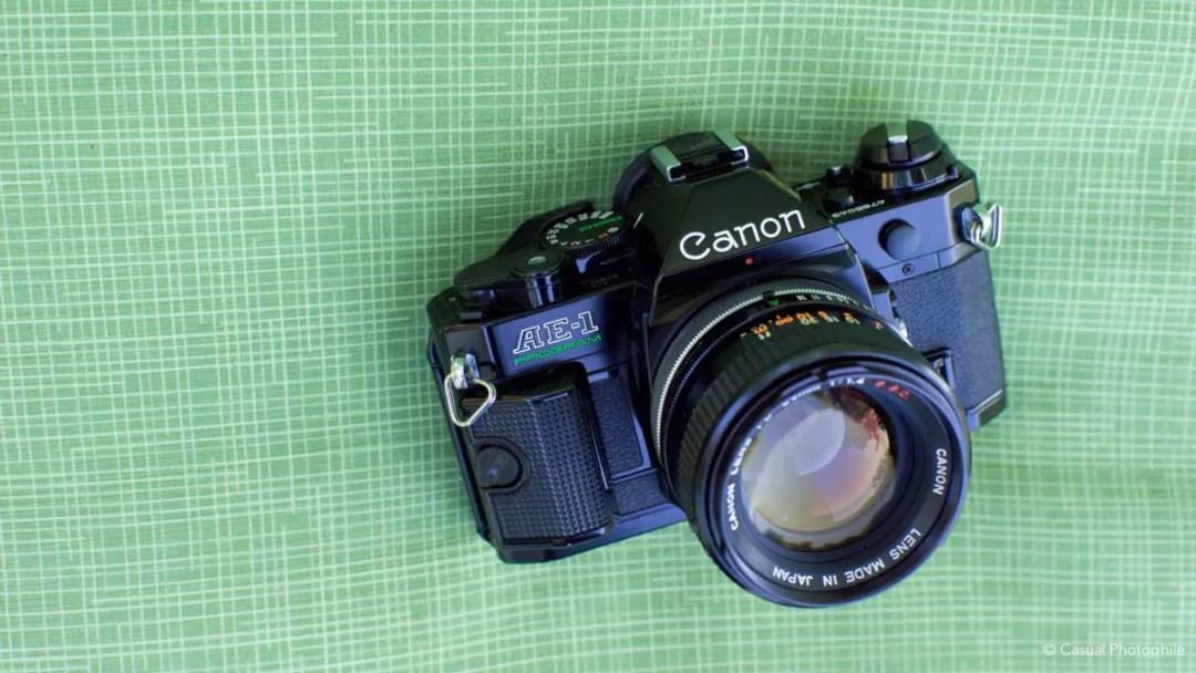 Canon AE-1 vs Canon AE-1 Program Camera Review 5