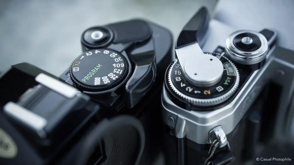Canon AE-1 vs Canon AE-1 Program Camera Review 9