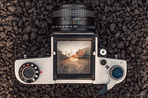 Old camera collection: Kiev 60 TTL, the monster