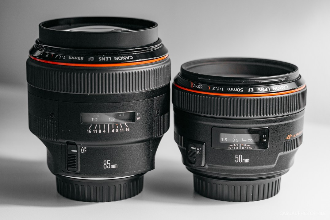 Canon 50mm 85mm f-1.2 lens product shots-2