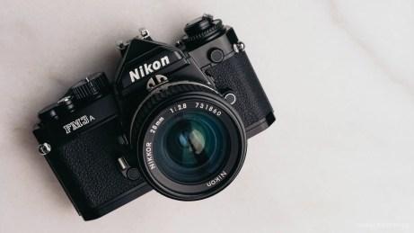 The Nikon FM3a.