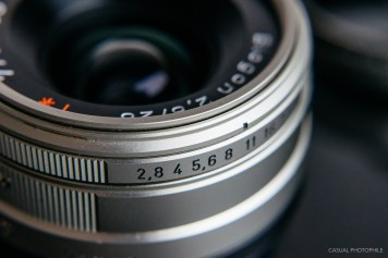 contax g 28mm lens review product photos-3