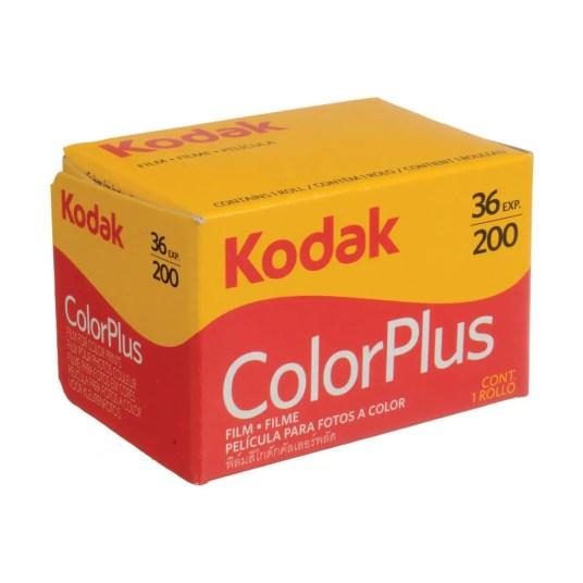 kodak color plus film box