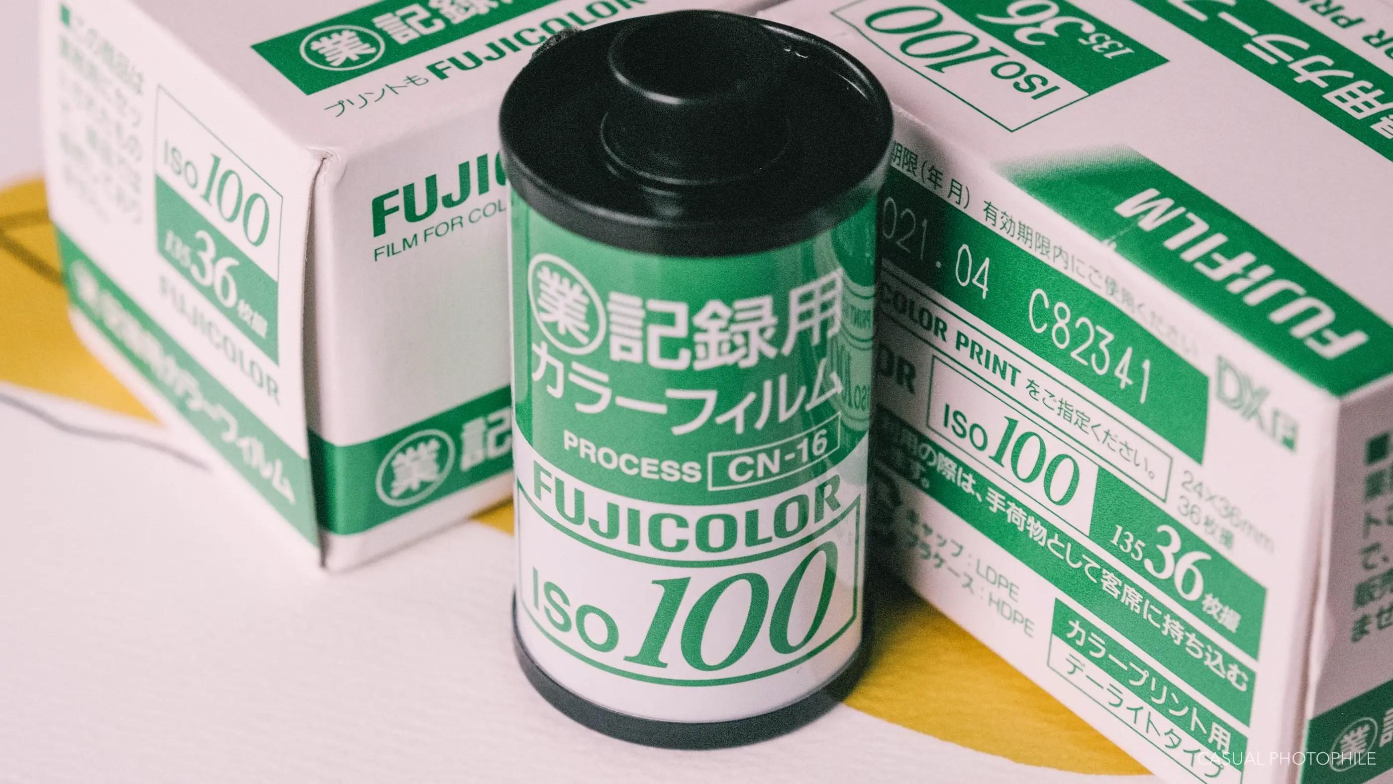 Fujicolor Industrial 100 - Film Profile - Casual Photophile