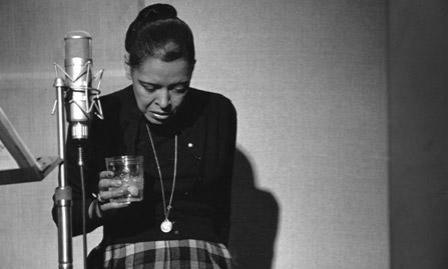 Billie Holiday's last recording session.