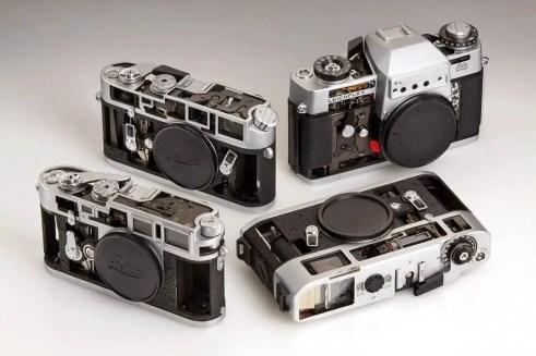 Leica cutaways